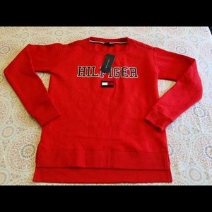 Tommy Hilfiger Red Pullover Sweater Sz. XXS